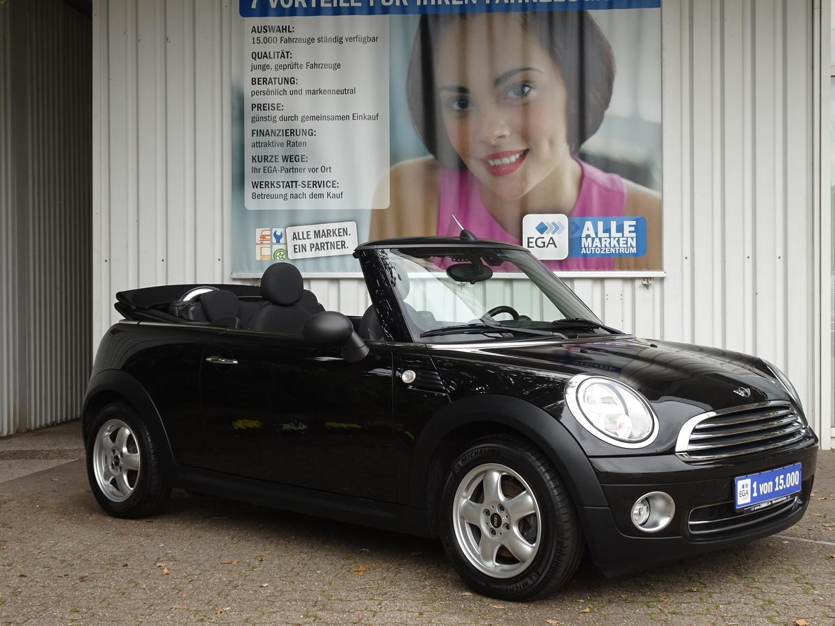 MINI One Cabrio 1,6 16V *1.HD*SHZ*KLIMAAUTO*PDC*ALU*