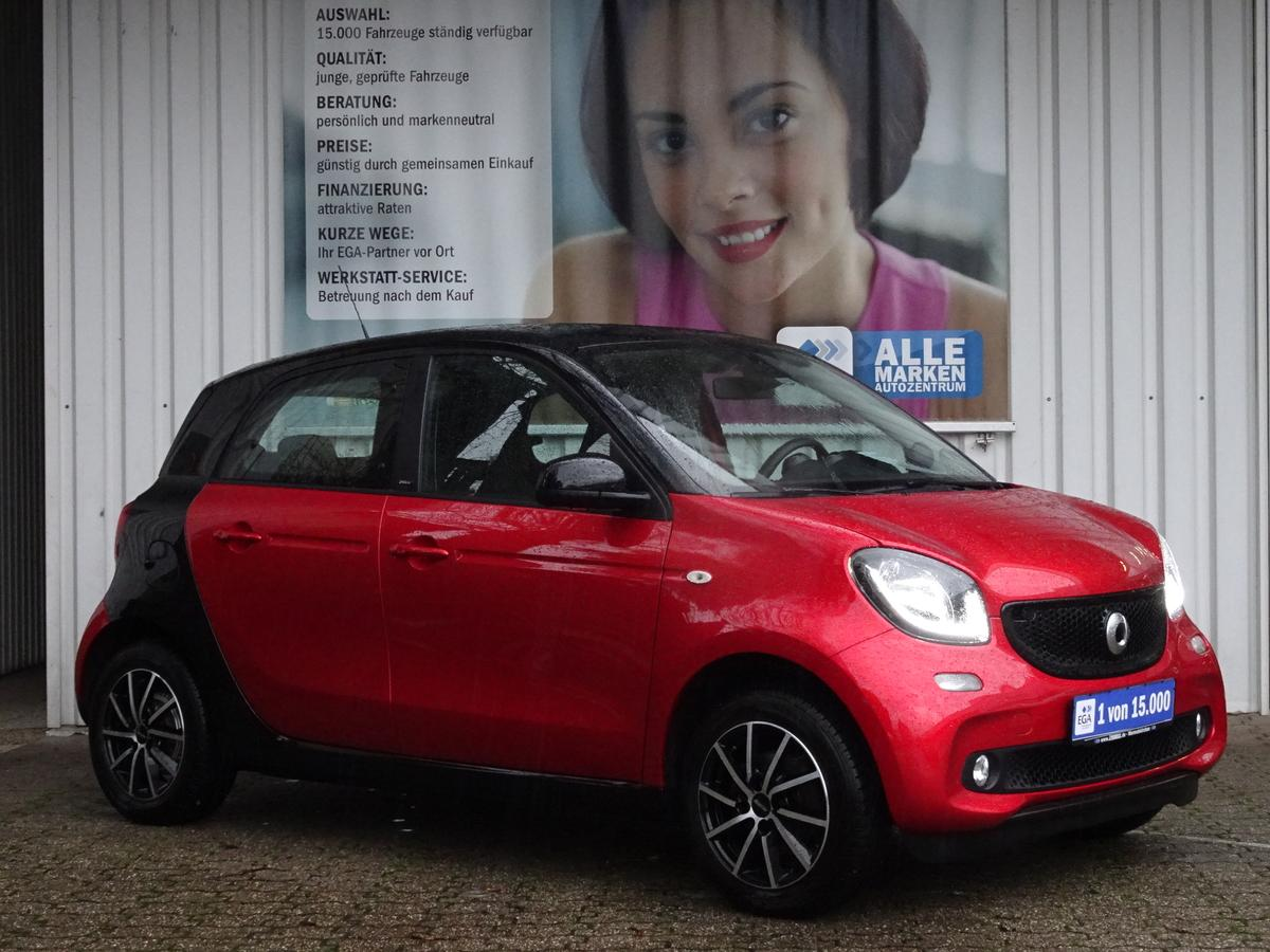 Smart ForFour PASSION/PANORAMAD/LED/COOL+AUDIO/PTS/SHZ/READY SITZE